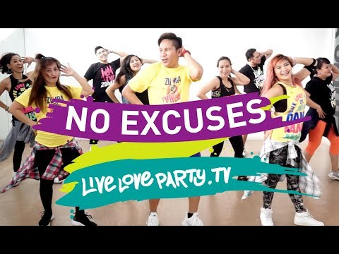 No Excuses By Meghan Trainor | Live Love Party | Dance Fitness | Zumba