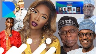 Obasanjo attacks Buhari, Tiwa savage's new love interest.