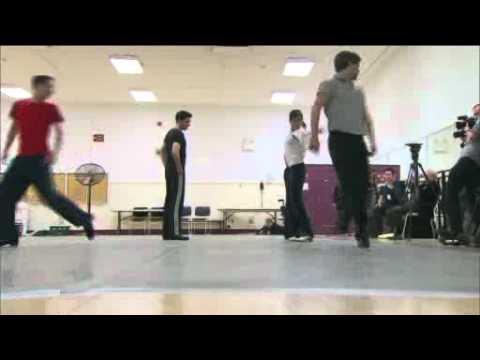 RAW VIDEO_ Riverdance Rehearsal Radio City