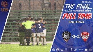 Thailand Youth League Highlight : นครราชสีมา มาสด้า เอฟซี 0-2 เอสซีจี เมืองทอง ยูไนเต็ด