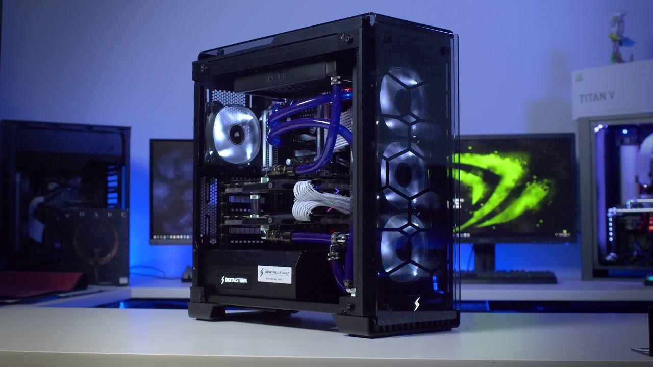 Lumos 2x GTX 1080 Ti - Custom PC Build