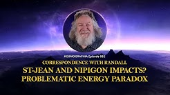 Randall Carlson Podcast Ep032 St-Jean & Nipigon Impacts? Problematic Energy Paradox Glacial Retreat