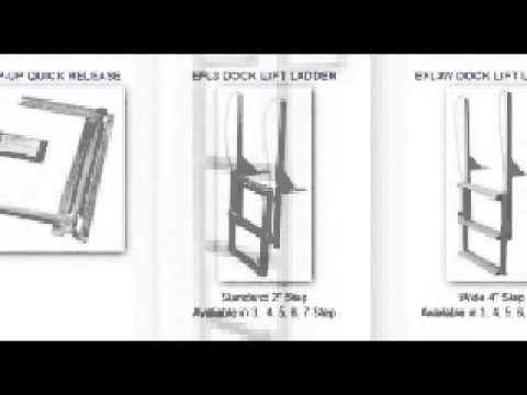 Dock Ladders for LESS ~ boat-ladders-store.com