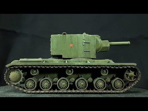 Painting the Warlord KV-1/2 Soviet Heavy Tank [28mm]