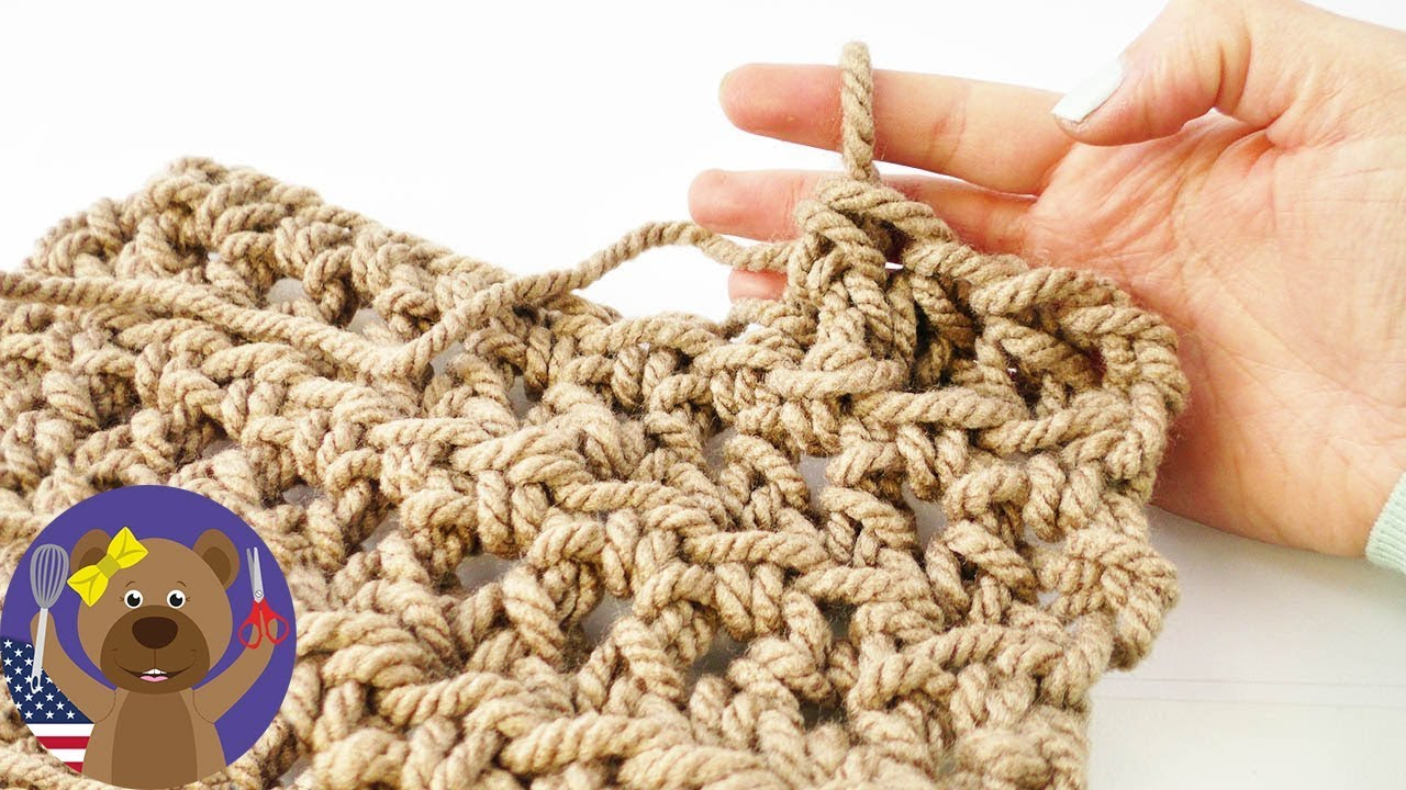 Technique of crocheting without crocheting
