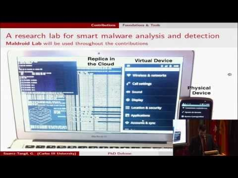 Thesis Defense: Mining Structural and Behavioral Patterns in Smart Malware