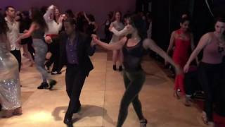 JORGE LUIS & INDIRA MORA SALSA CUBANA DANCE AT RENO LATIN DANCE FEST 2019