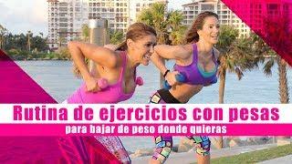 Rutina de ejercicios para bajar de peso donde quieras con Jennifer Nicole Lee