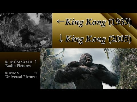 King Kong: Side-by-Side (1933 Film/2005 Film Comparison)