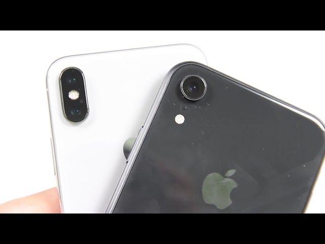 Ch?n iPhone XR Lock m?i hay iPhone X c? ?ây?