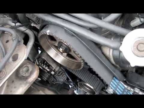 new timing belt dodge neon 02 - YouTube