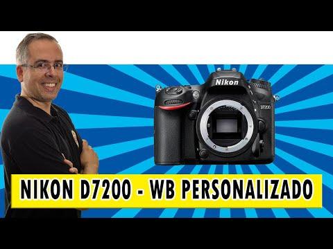 Nikon D7200 - Como fazer o WB Personalizado