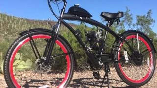 MOTORIZED BICYCLES AND GAS BIKES BY U-MOTO