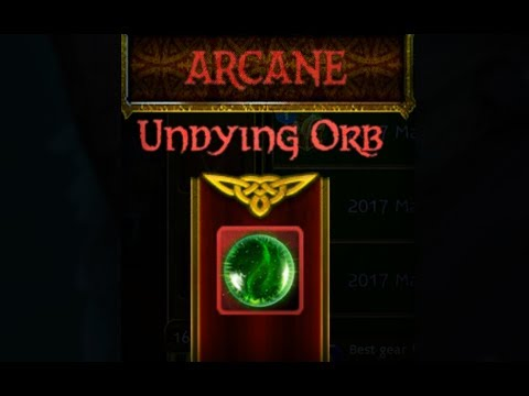 Arcane Legends - Looting UNDYING ORB Again!!   Opening 16x 2017 Massive Glintergoblin Chests
