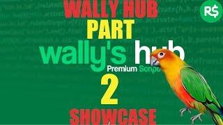 Wally Hub TESTER Review [roblox exploit]