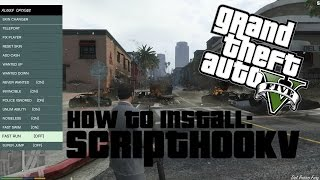 How to install Script Hook V for GTA 5 PC! (Tutorial)