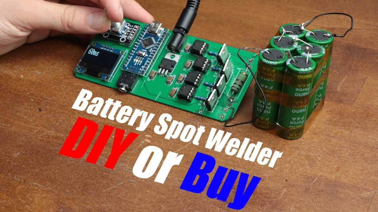 The Un-Economy Of Building Your Own Spot Welder | Hackaday