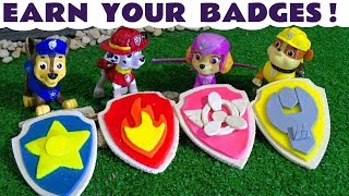 Paw Patrol Play Doh Stop Motion with Toy Train Candy Minions at McDonald