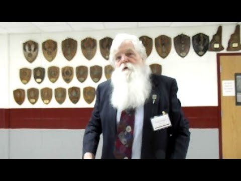 Official with great beard gives great answer (Wilton, NH)