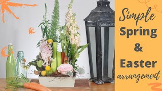 HOW TO CREATE SIMPLE EASTER FLOWER ARRANGEMENTS / MIRACLE DESIGN TIME