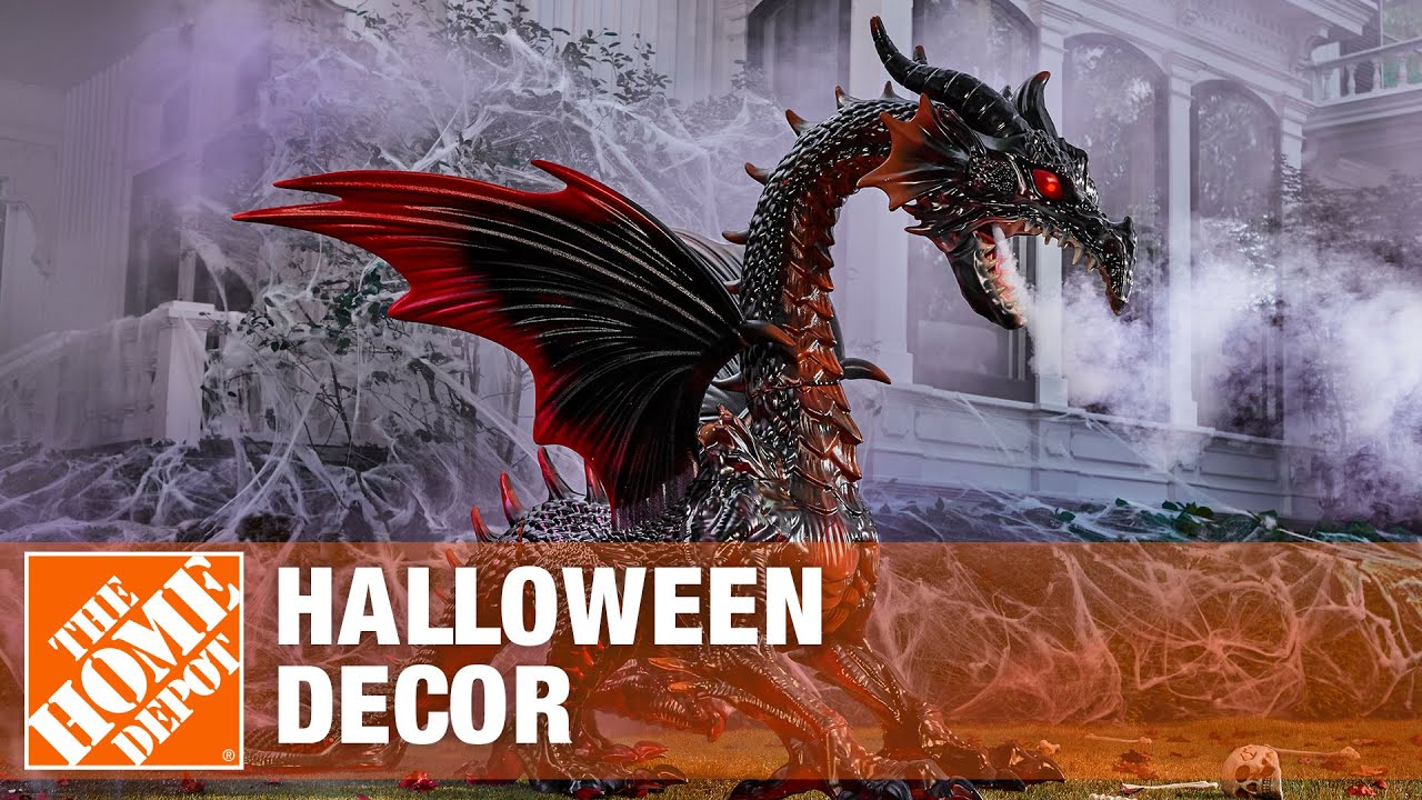2017 halloween decorations at the home depot