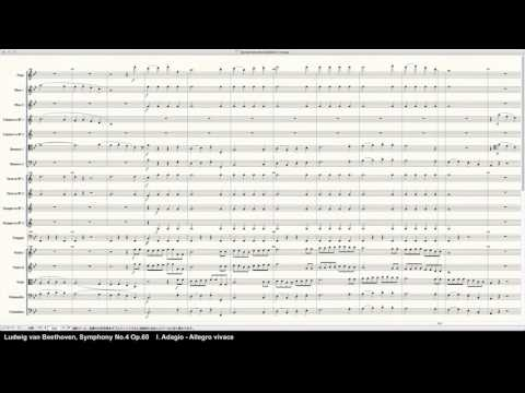 Beethoven Symphony No.4 Op.60 - Programed in Finale 2014 by pkmtKuma
