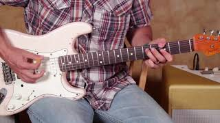 Lick Of the Day  - Blues Double Stops  - Guitar Lesson