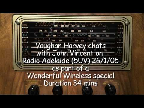 Vaughan Harvey & John Vincent - Radio Adelaide (formerly 5UV) 26/1/05