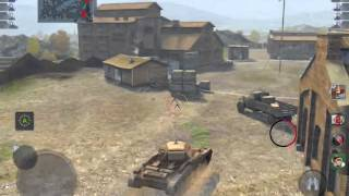World of tanks BLITZ - Covenanter ( FALLS CREEK)(This is why you shouldn't go to the bridge! )