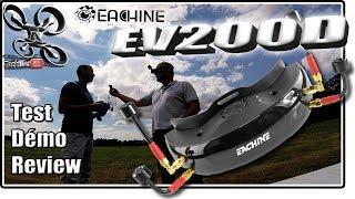 Eachine EV200D Vs Fatshark - Review Test Démo - Pas parfaites mais presque !