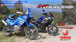 Yamaha Super Ténéré XTZ 750 vs XTZ 1200 I Comparativa Histórica I Review Prueba Essai Historique