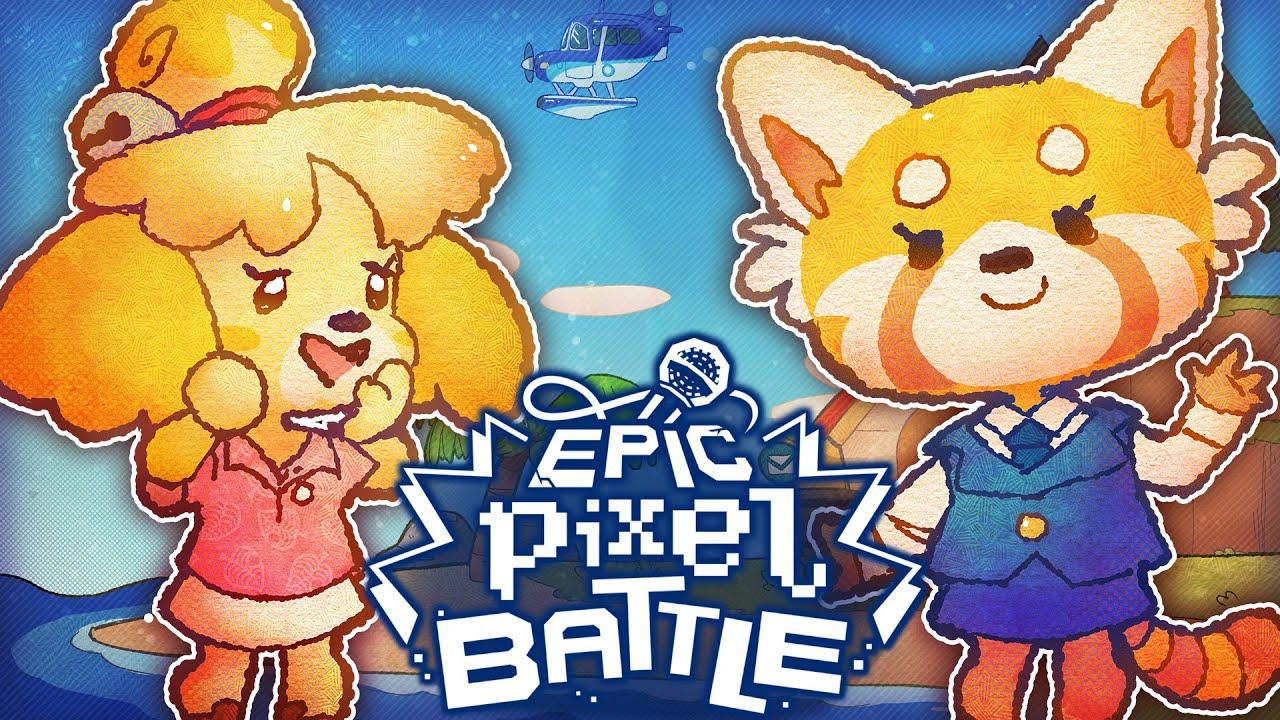 Download Marie VS Retsuko - EPIC PIXEL BATTLE [ EPB SAISON 4 ]