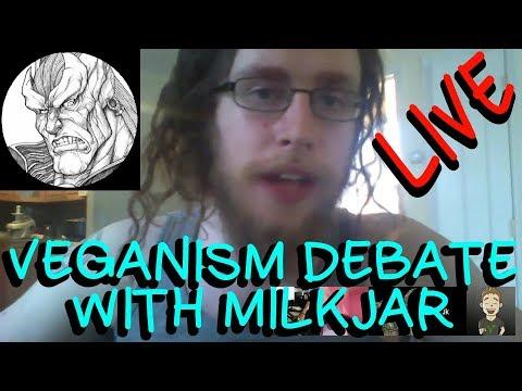 MILKJAR VS WOTAN SAURON - ETHICS AND BIOLOGY DEBATE REGARDING VEGANISM | VEGAN VS RAW MEAT EATER