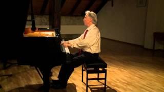 Mozart Rondo a-moll KV 511 für Klavier Erwin Möckli piano