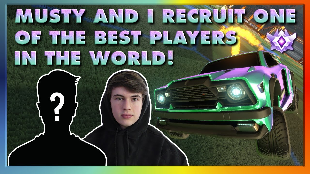 Musty And I Recruit One Of The BEST Players In The World! | High Level Pro 3V3 (With Comms)