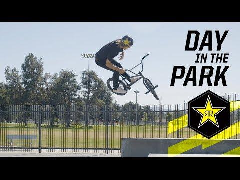 2018 BMX | Day in the Park w/ Chad Kerley & Dennis Enarson