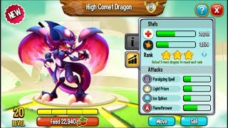 Dragon City - High Queen Dragon | New Heroic Racing Dragon in 2017
