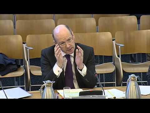 Finance Committee - Scottish Parliament: 9th January 2013