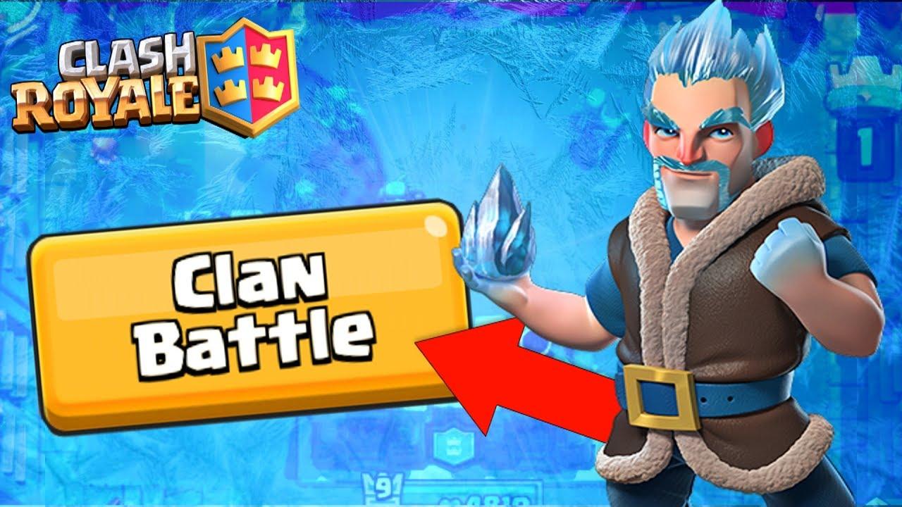 Winning Clan Battles! Clash Royale + NEW UPDATE!