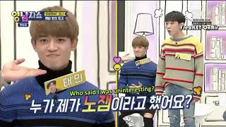 SHINee - Soul Swapping at yang and nam show