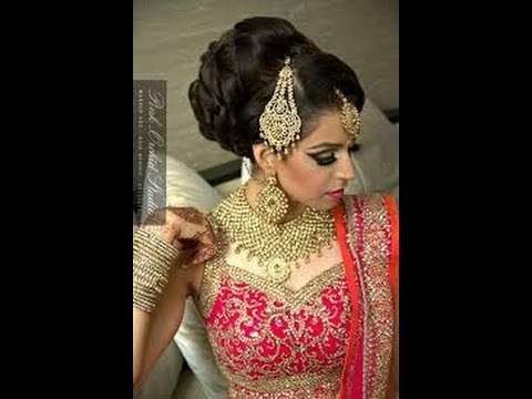 Hairstyles For Long Hair S In Hindi : How to make best hair style indian bridal juda wedding