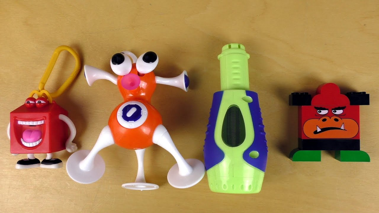 10 Weird Happy Meal Toys From The 90s Youtube