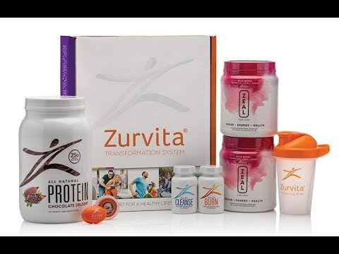 Zeal for life wellness drink Zurvita