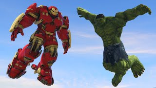 HULK vs HULKBUSTER MOD! (GTA 5 Mod Funny Moments)