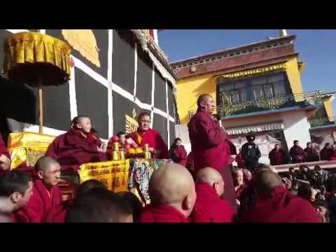 Dorjee shugden high lama monks and republic in Tibet. Kham Denmu2016