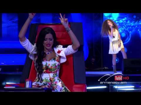 Arpine Babakhanyan,One Way Or Another -- The Voice of Armenia – The Blind Auditions – Season 3