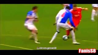 Steven gerrard dribbling skills(la galaxy and lfc)