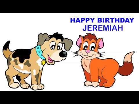 Jeremiah   Children & Infantiles - Happy Birthday