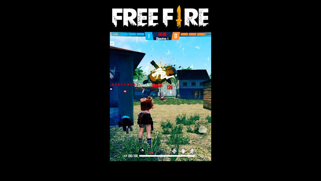 Free Fire Shorts Video   Attitude Status   Shayari - Garena Free Fire #Shorts #Short