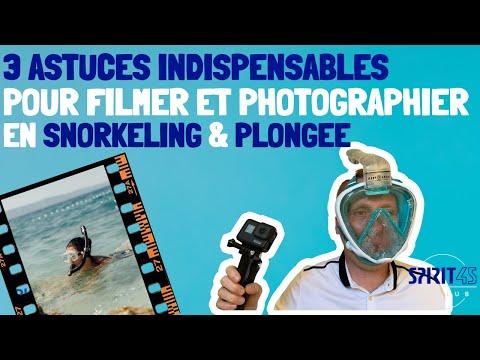 3 Astuces SIMPLES pour faire des belles images en PLONGEE ou en SNORKELING